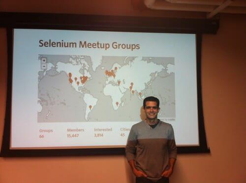 Adam Carmi at SeTLV Meetup