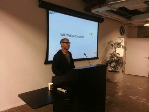 Itay Shmool, Wix QA Manager - at SeTLV Meetup