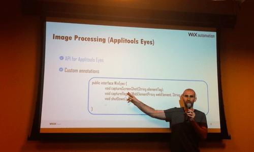 Wix at SeTLV Meetup