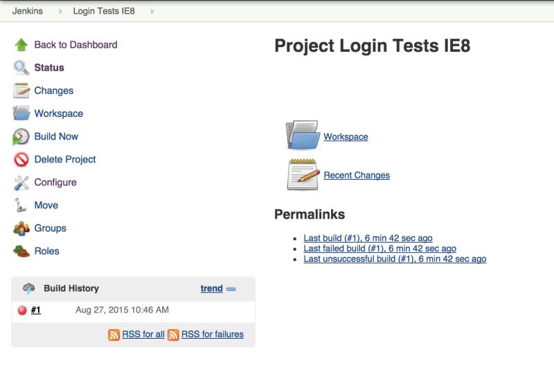 Jenkins CI - Build reports