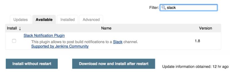 Jenkins CI - notification plugins 02