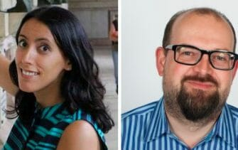 Ines Sombra (left) and James Turnbull (right)