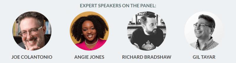 Expert Panel: Joe Colantonio, Angie Jones, Richard Bradshaw, and GIl Tayar