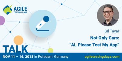 Gil Tayar's talk @ Agile Testing Days Conf Germany 2018
