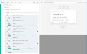 Cypress & VueJS Todo sample app