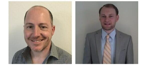 Speakers: James Lamberti -- Applitools CMO (left), and Patrick McCartney -- Director of Customer Success engineering @ Applitools (right)