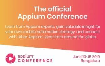 Appium Conference 2019 -- logo