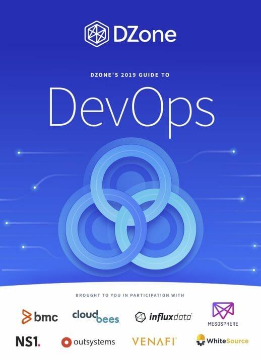 dzone researchguide devops2019 Cover