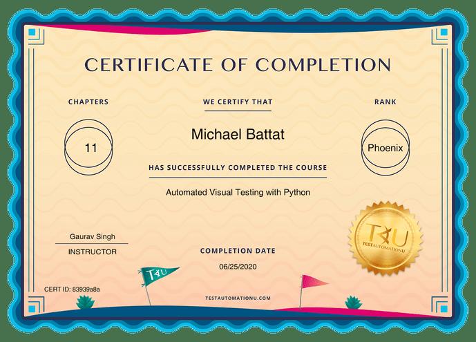 certificates TAU 83939a8a