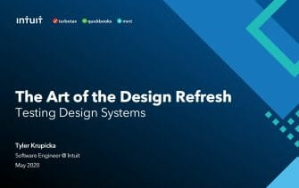 Testing Design System Changes Across Your Application -- Intuit Use Case -- with Sr. Engineer Tyler Krupicka