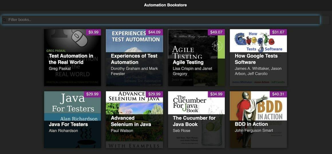 1 bookstore app