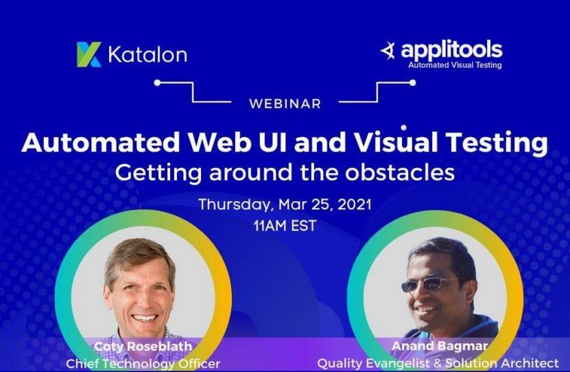 Automated Web UI and Visual Testing
