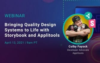 Bringing Quality Design Systems to Life with Storybook and Applitools