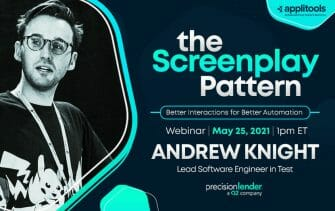The Screenplay Pattern: Better Interactions for Better Automations