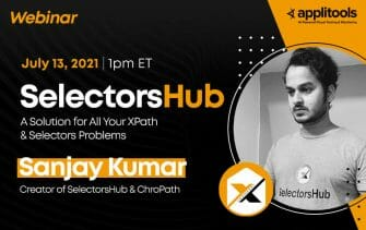 SelectorsHub: A Solution for All Your XPath & Selectors Problems