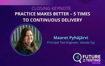 Closing Keynote | Future of Testing: Mobile