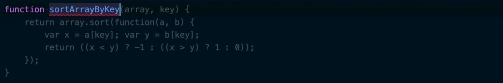 Copliot suggesting code for a function