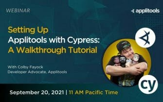 Setting Up Applitools with Cypress: A Walkthrough Tutorial