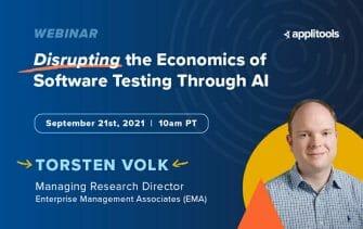 Disrupting the Economics of Testing Through AI