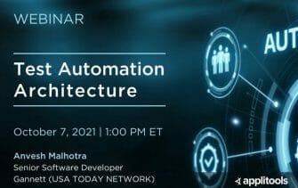 Test Automation Architecture