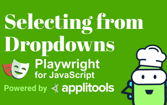 Learn how to select and get values from dropdowns in Playwright