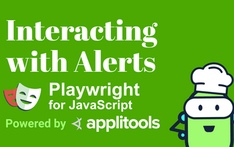 Learn how to interact with alerts in Playwright