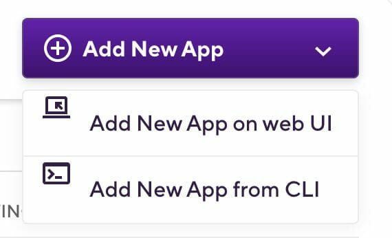Adding a new app on Bitrise