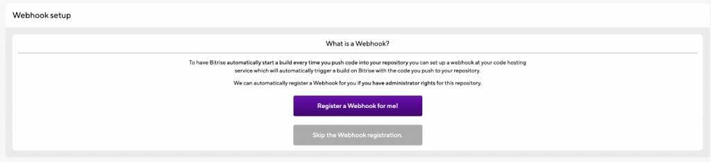 Register a Webhook