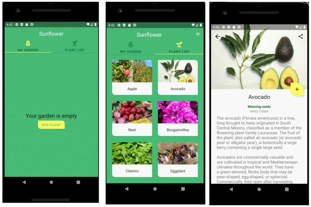 Sunflower Android App